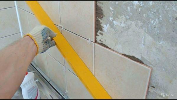 технология кладки плитки на стену