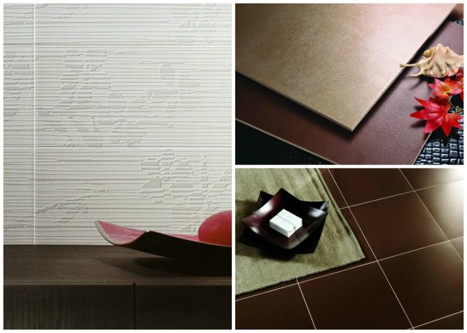 Типы поверхности плитки
