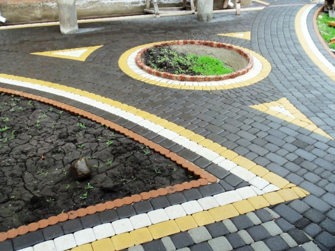 Дорожки из тротуарной плитки