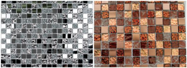 Мозаичная плитка из стекла имеет высококачественные эксплуатационные характеристики