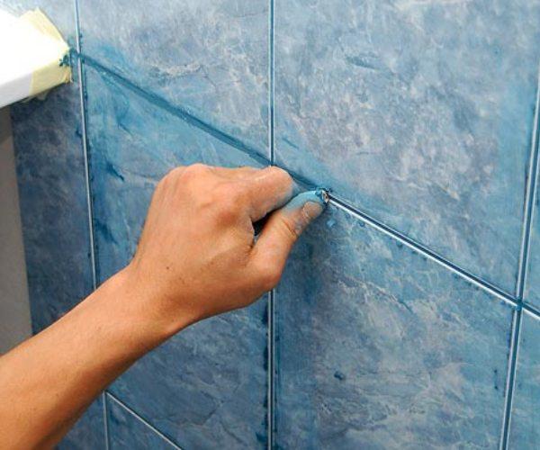 ванная - укладка плитки на стены и пол