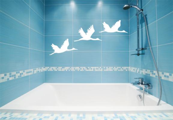 Как кладут плитку в ванной