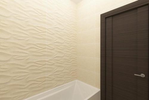 Ванная комната песочного цвета