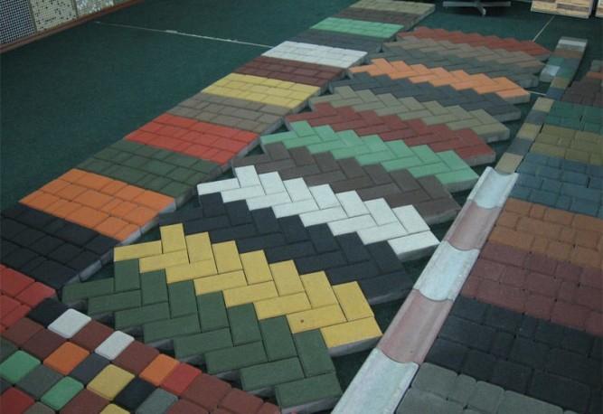 Разновидности тротуарной плитки