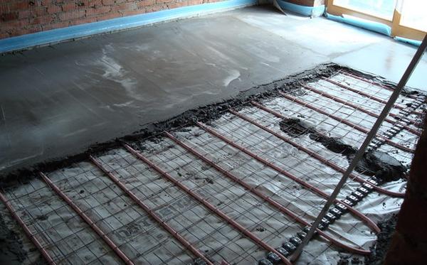 Выбор керамики на тёплый пол и её укладка