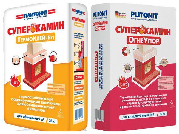 Плитонит Суперкамин термоклей